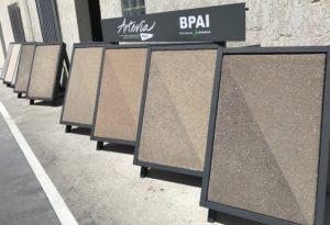 Béton spéciaux décoratif Artevia BPAI partenaire Lafarge spécialiste du béton prêt à l'emploi