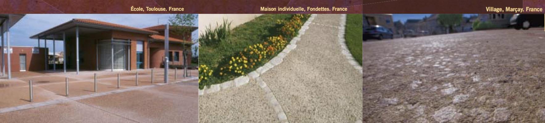 BPAI partenaire Larfarge Holcim brochure béton spéciaux décoratif Artevia - Béton Roche réalisation
