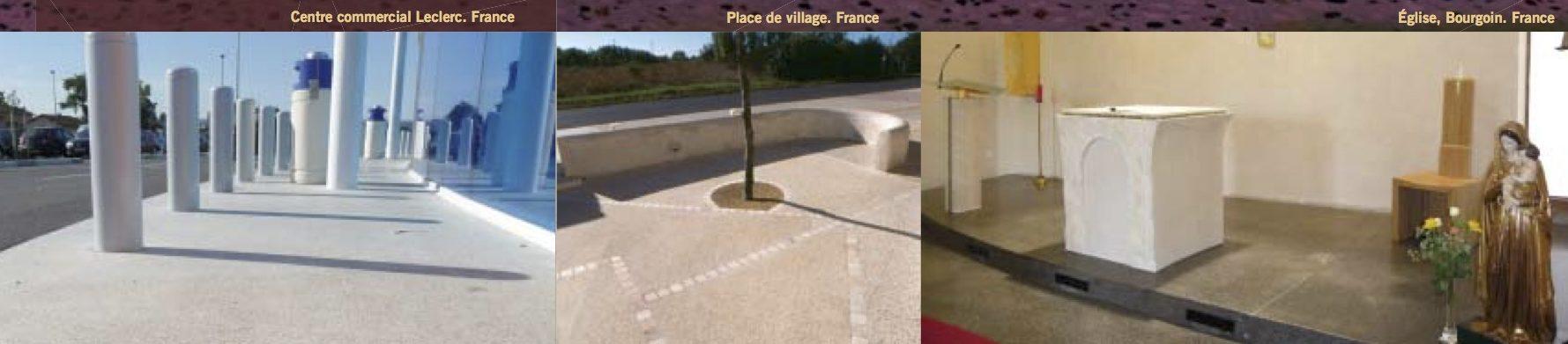 BPAI partenaire Larfarge Holcim brochure béton spéciaux décoratif Artevia - Béton Poli réalisation